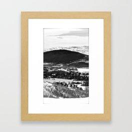 Nature's High Rise Framed Art Print