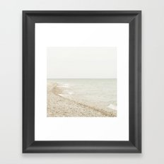 Coastal Shore Point Betsie No. 1 Framed Art Print