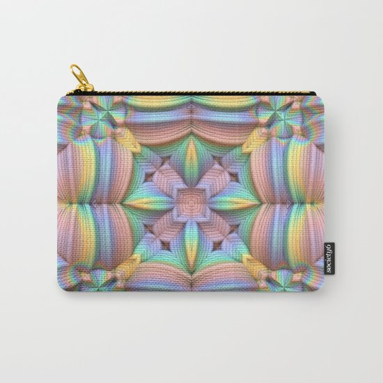 Symmetry in Pastels Carry-All Pouch