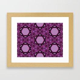 Blueberry blossom 1 Framed Art Print