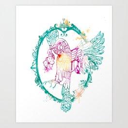 Heart Song Art Print
