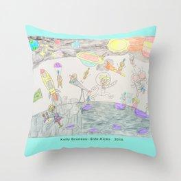 Kelly Bruneau #12 Throw Pillow