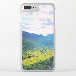 Vermont on the cusp of fall Clear iPhone Case