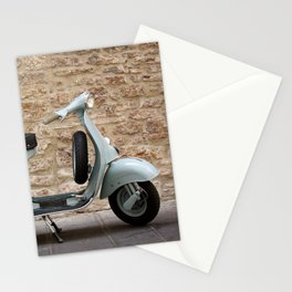 Italian vintage motorcycle Stationery Cards