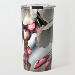 Japanese Cherry Blossoms Travel Mug