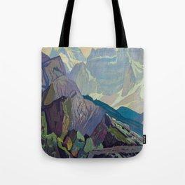 Goat Range Rocky Mountains, 1932, McMichael Canadian J.E.H. Macdonald Tote Bag