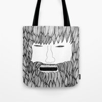 doodle Tote Bags featuring Doodle by David
