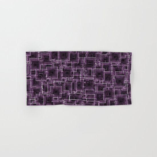 The Maze - Lilac Hand & Bath Towel