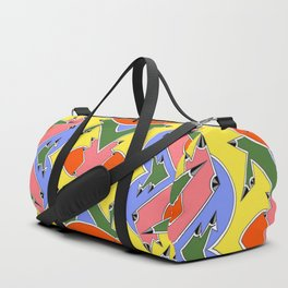 Sharp Angles Duffle Bag