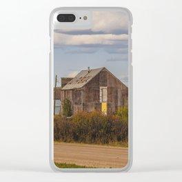 Saloon, Wabek, North Dakota 3 Clear iPhone Case