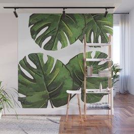 Palm Cuts Wall Mural