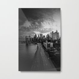 NEW YORK CITY VIII Metal Print