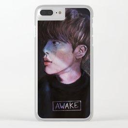 awake.jpg Clear iPhone Case