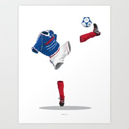 France 1998 - World Cup Winners Art Print