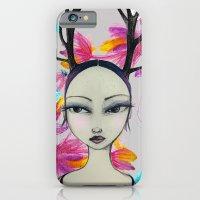 Fawn Woodland Gal iPhone 6s Slim Case