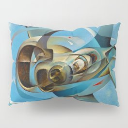Monoplane in Flight by T. Crali Pillow Sham