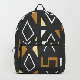 African Tribal Pattern No. 12 Backpack