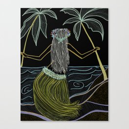 Hula Canvas Print