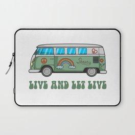 Hippie Bus T-Shirt Laptop Sleeve