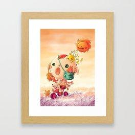Monster Hottest Framed Art Print