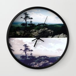 Kaleidoscope Park Wall Clock