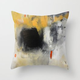 Abstract study on paper  Throw Pillow