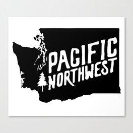 Washington State Canvas Print