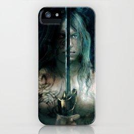 warrior inside iPhone Case