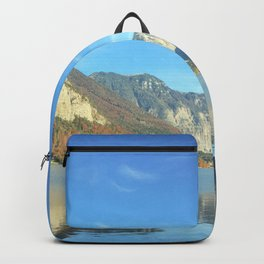 Mountain Morning Reflection Backpack