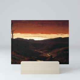 A Twilight in the Catskill Mountains by Sanford Robinson Gifford Mini Art Print