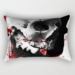 Vacant walls of sleep Rectangular Pillow