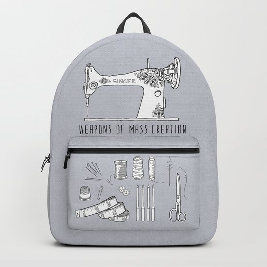 Weapons Of Mass Creation - Sewing Backpack