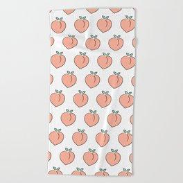 Cute Peaches Beach Towel