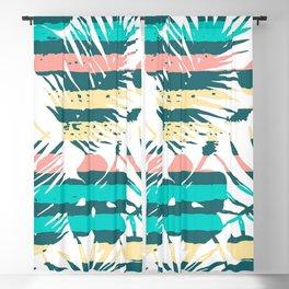 Tropical Pastels Blackout Curtain