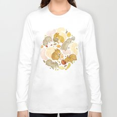 Things Squirrels Probably Shouldn't Be Eating Long Sleeve T-shirt