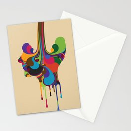 Poured Stationery Cards