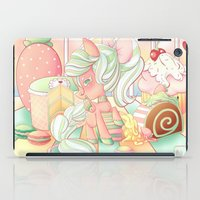 mlp iPad Cases featuring Strawberry Dollop MLP by Whimsette
