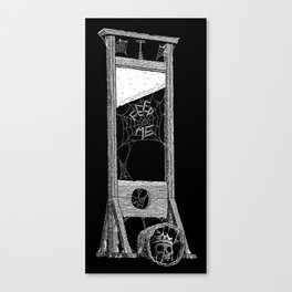 hungry guillotine Canvas Print