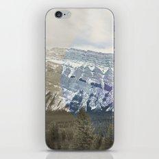 Tunnel Mountain iPhone & iPod Skin