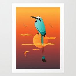 Oklahoma Bird Art Print