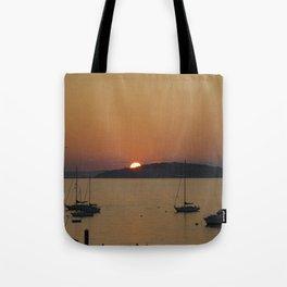 Sunset at Hull Massachusetts Tote Bag