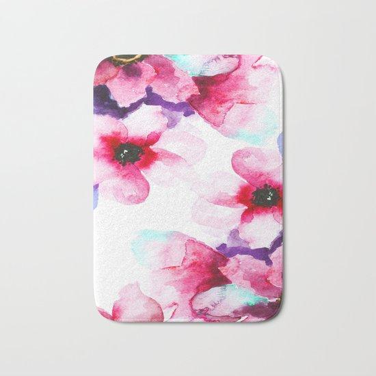 Flowers 04 Bath Mat