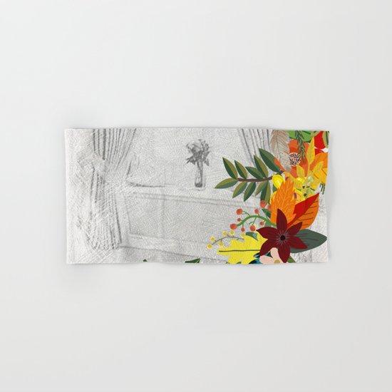Flowers bouquet #14 Hand & Bath Towel