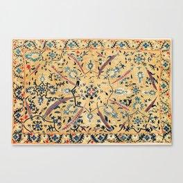 Kermina  Suzani  Antique Uzbekistan Embroidery Canvas Print