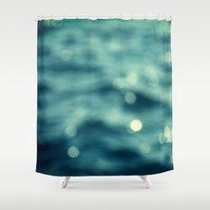 Bokeh Water Shower Curtain