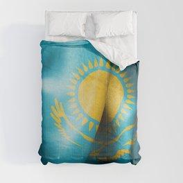 Kazakhstan Flag Comforters