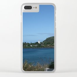 Calm Waimea Bay Clear iPhone Case