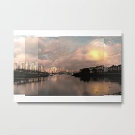 False Creek Candy Glow 3 Metal Print
