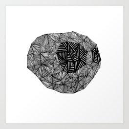 - cat - Art Print