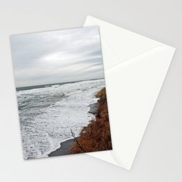 Land and Sea and the line Between Stationery Cards